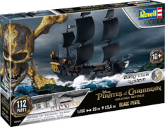 REVELL 05499 Modellbausatz Fluch der Karibik Black Pearl 1:150, ab 10 Jahre