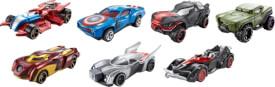 Mattel Hot Wheels Marvel 1:64 Character Fahrzeuge, sortiert
