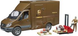 Bruder MB Sprinter UPS, ab 4 Jahren, Maße: 52 x 19,5 x 27 cm, Kunststoff