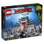 THE LEGO® NINJAGO® 70617 Ultimativ ultimatives Tempel-Versteck, 1404 Teile