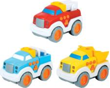 Beeboo Baby Press & Go Fahrzeug, 3-fach sortiert