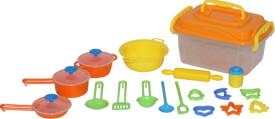 Beeboo Kitchen Spiel-Koch- und Backset, 20-teilig