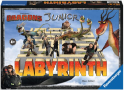 Ravensburger 212057  Dreamworks Dragons Junior Labyrinth Kinderspiel