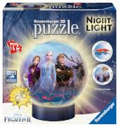 Ravensburger 11141 Puzzleball Disney Frozen 2 Nightlight 72 Teile