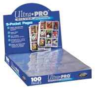 Ultra Pro 9-Pocket Silver Series Pages
