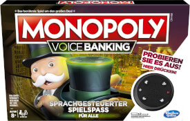 Hasbro E4816GC2 Monopoly Voice Activated Banking
