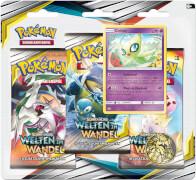 Pokémon Sonne & Mond 12 3-Pack Blister  ab 6 Jahren.