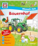 Tessloff WAS IST WAS Junior: Mitmach-Heft Bauernhof, Broschiert, 24 Seiten, ab 4 Jahren