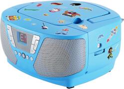 Tragbares CD/Radio - Kids blau NEU